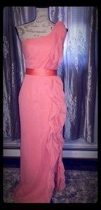 A beautiful floor length dress